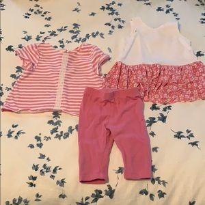 Pippa & Julie 3-piece crop pants outfit